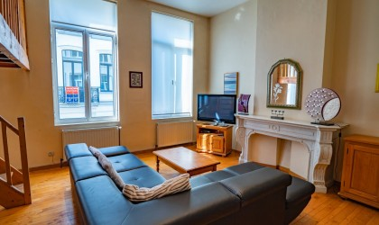 Location meublée - Appartement - bruxelles-1